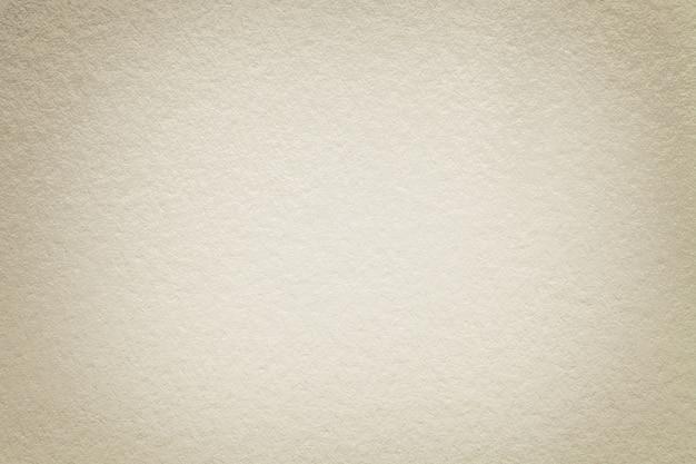 古い暗い白い紙、クローズアップのテクスチャ。密なエメラルド厚紙の構造。