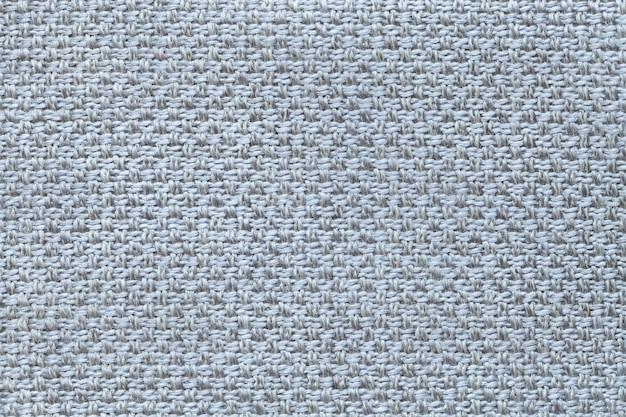 市松模様の明るい青の繊維の背景