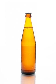 白のラガービール瓶