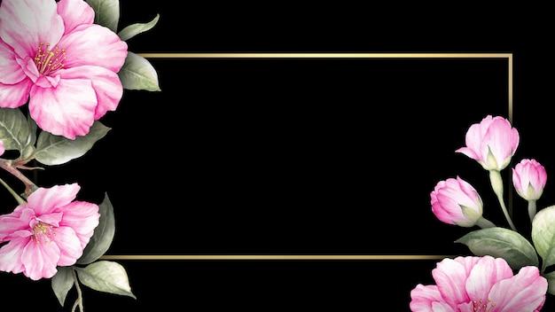 桜の花の招待状。