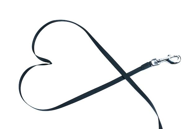 動物のウォーキング、コンセプトが大好きです。分離された鎖からの心