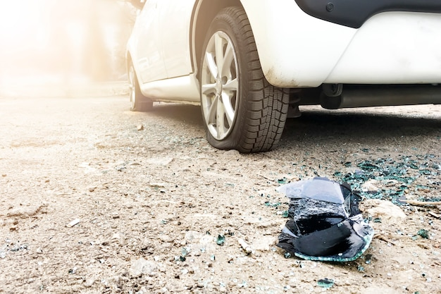Ограбление автомобиля.