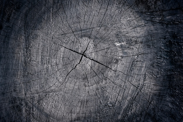 Деревянный вырезать черная текстура, фон крупным планом