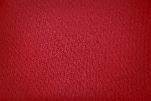Ярко красная текстура ткани с виньетированием