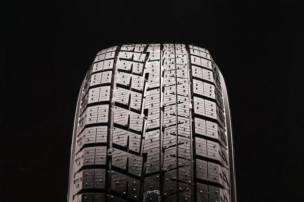 スパイクなしの新しい無方向非対称摩擦冬用タイヤベルクロ