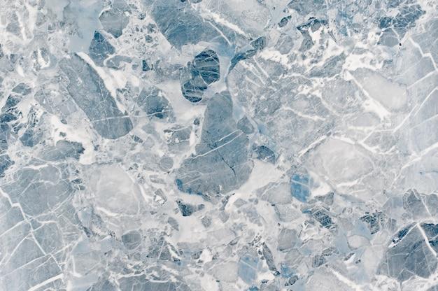 床仕上げ用の青い大理石のテクスチャ。淡いブルーの大理石