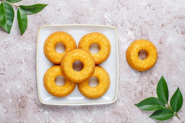 おいしいシンプルなドーナツ、上面図