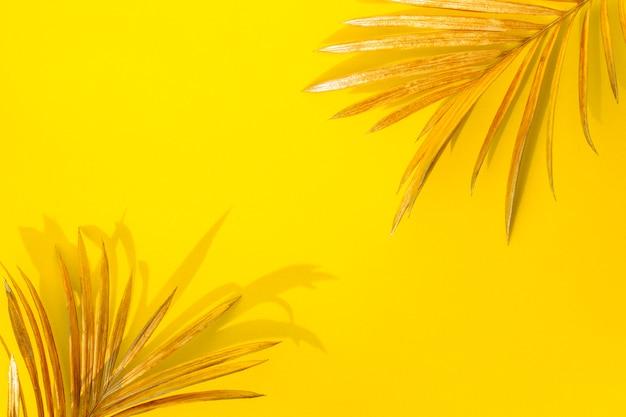 黄金のヤシの葉