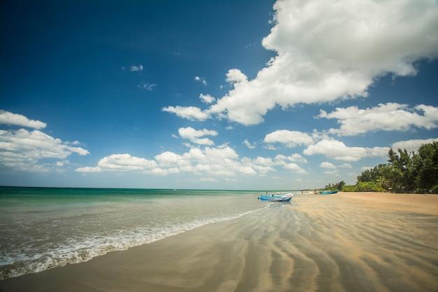 Удивительный пляж нилавели в тринкомали, шри-ланка