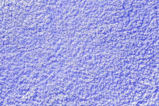 ライラックのシームレスなテリー布のテクスチャ。モノクロタオルの背景。