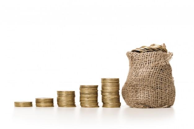 Растениеводство в мешке монет