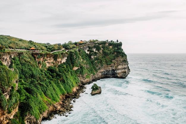 バリの海岸線