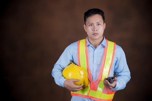 Строительство, инженерные рабочие концепции