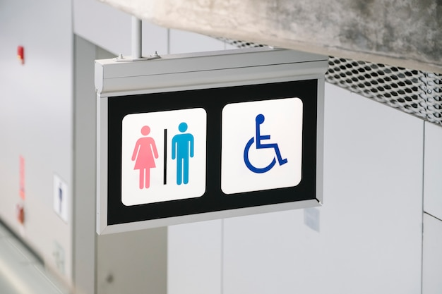 トイレのサイン