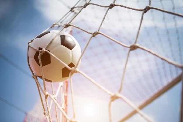 Футбол в концепции успеха цели