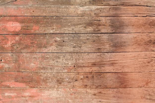 レッド木製ボード