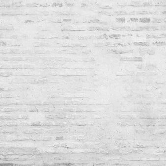 白グランジのレンガの壁