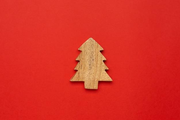 木製装飾クリスマスツリー