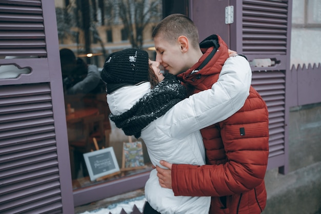 シーズンジャケット屋外ロマンチックな人