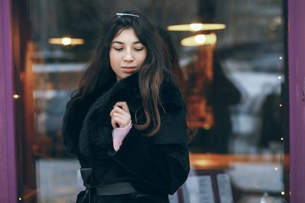 冬の女の子