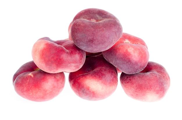 Куча сладких парагвайских персиков фона