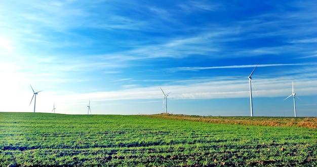 風力発電所のファン