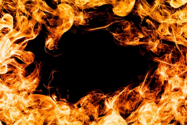 Пламя круг
