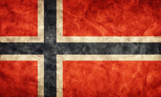 古いノルウェーの旗