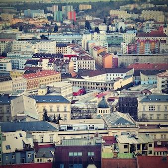 «вид на крыши города»