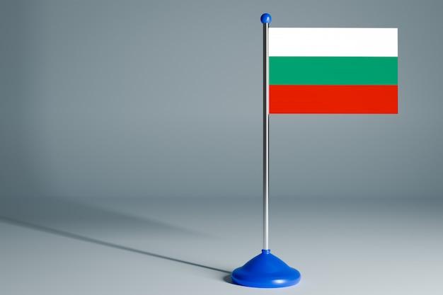 Пустой настольный флаг, подходящий для дизайна,