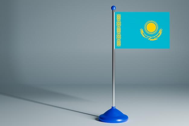 Пустой настольный флаг, подходящий для дизайна