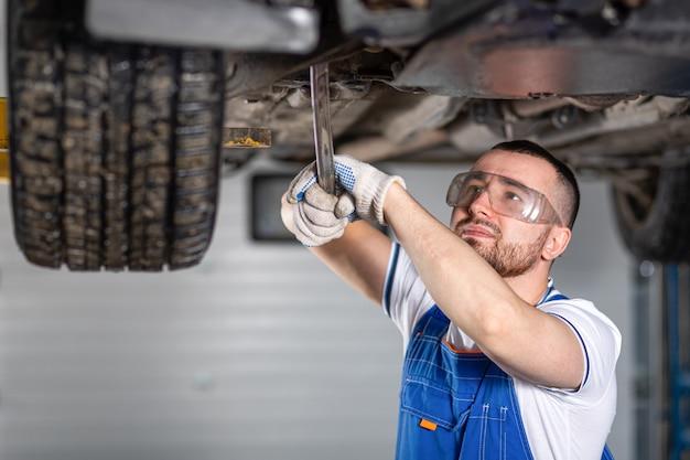 自動車修理サービス。