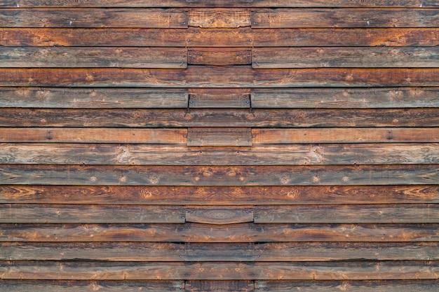 茶色の木製の壁茶色のテクスチャ背景