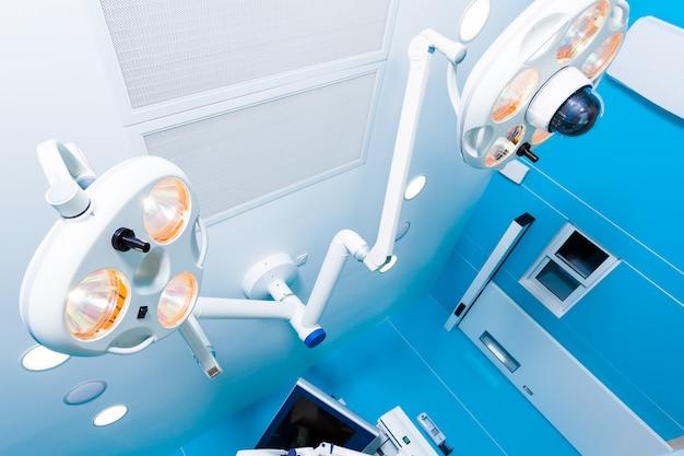 医療手術室用の明るいランプ