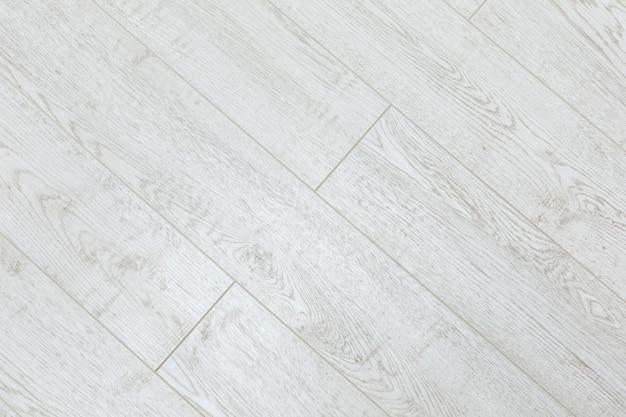 Текстура фона из белых досок на полу
