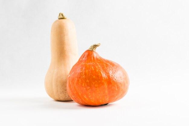 新鮮なオレンジ色のカボチャ