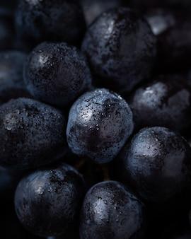 おいしいブルーベリー、自然の新鮮なクローズアップ