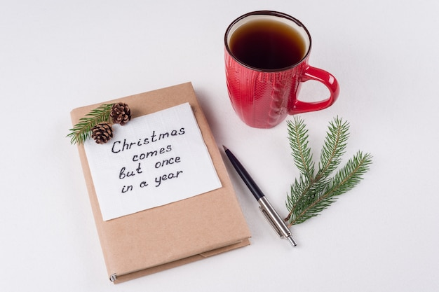 メリークリスマスの挨拶または願い