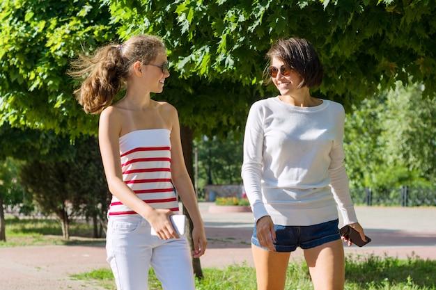 Общение мамы и подростка