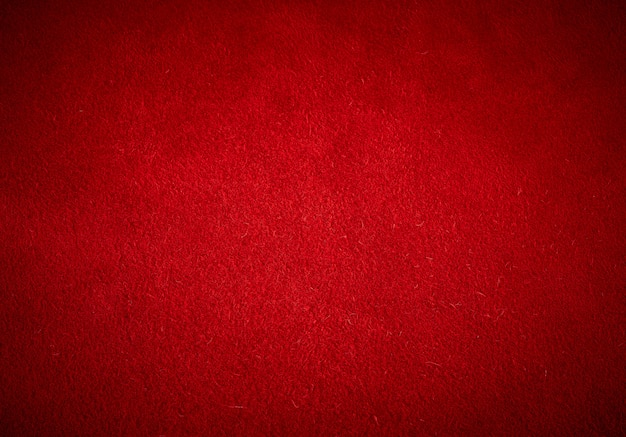 赤い牛スエード、フルフレームのテクスチャ