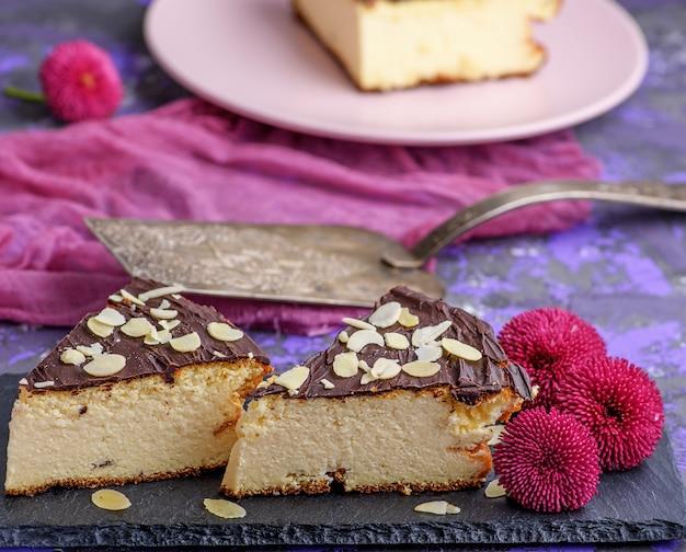 チョコレートとチーズケーキ