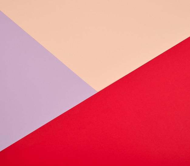 抽象的なカラフルな三角形
