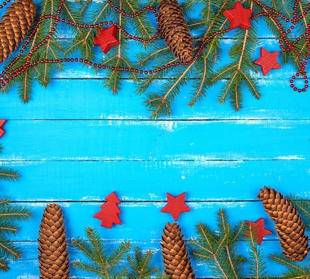 緑の枝クリスマスの背景