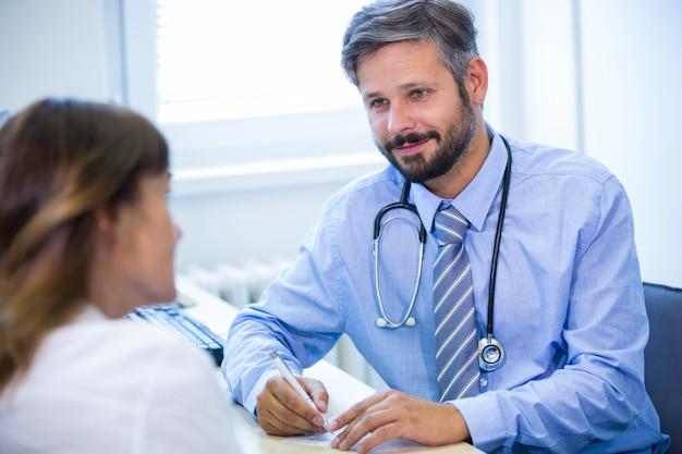 医師に相談した患者