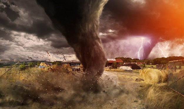 Большая катастрофа торнадо