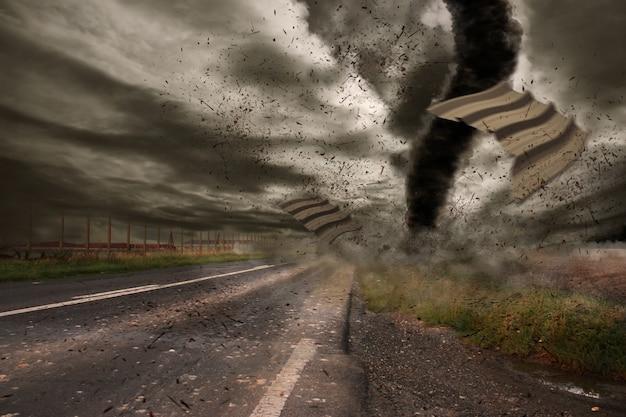 竜巻災害の概念