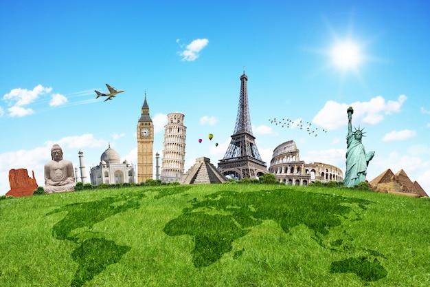 世界の記念碑を旅する