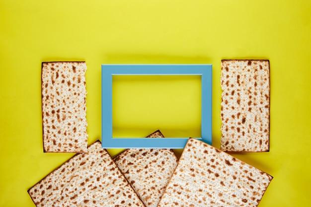 ペサのお祝いのコンセプト-ユダヤ人の過越祭の休日の背景