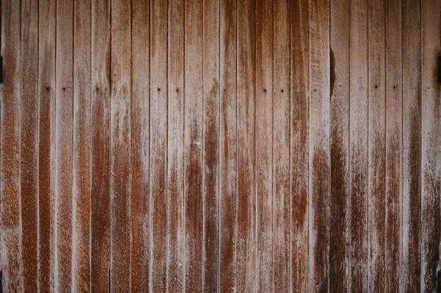 茶色のアンティークヴィンテージ木板のテクスチャ。