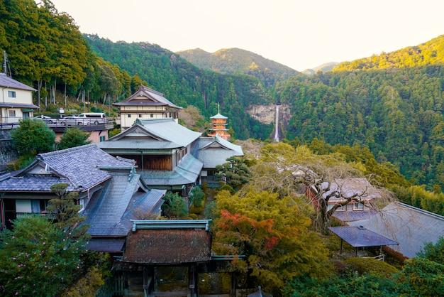 Храм кумано начи тайша япония